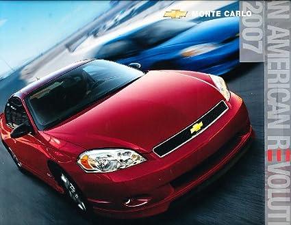 2007 Chevrolet Monte Carlo Original Dealer Sales Brochure   Ss