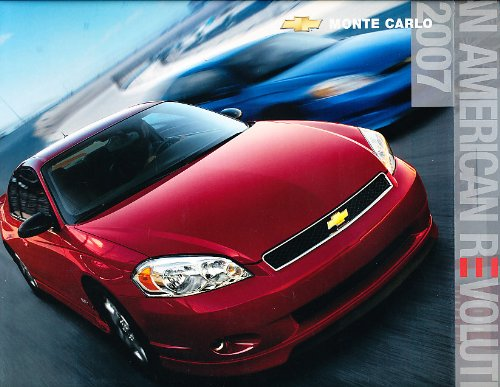 Original Dealer Brochure - 2007 Chevrolet Monte Carlo Original Dealer Sales Brochure - Ss