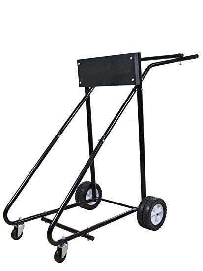 Amazon Com Tms 315 Lb Outboard Boat Motor Stand Carrier Cart Dolly