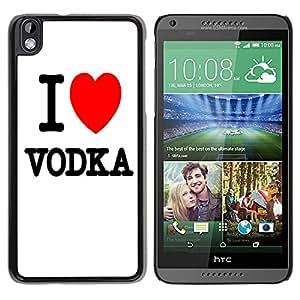 - Vodka - - Monedero pared Design Premium cuero del tir¨®n magn¨¦tico delgado del caso de la cubierta pata de ca FOR HTC DESIRE 816 Funny House