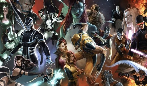 Marvel Retro All Characters Playmat (Marvel Character Cards compare prices)