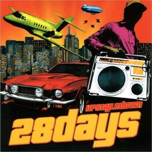 CD : 28 Days - Upstyle Down (CD)
