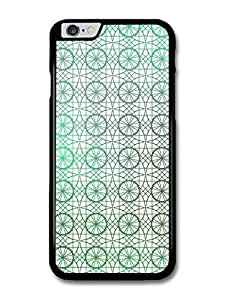 """AMAF ? Accessories Circle and Geometrical Stained Glass Pattern case for iPhone 6 Plus (5.5"""")"""