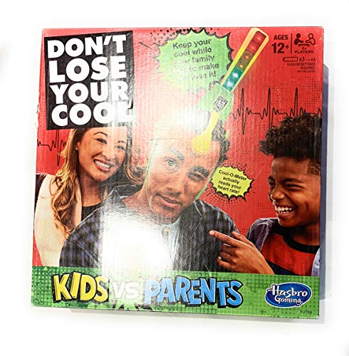 (Hasbro Gaming Don't Lose Your Cool Kids vs Parents Interactive Game Family Toy WLM8 68935 )