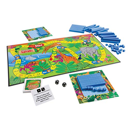 - Place Value Safari: Discovering Ones, Tens, and Hundreds! [With 2 Six-Sided Dice and 4 Safari Boards, 15 Jungle Cards, 4 Counters and Jungle Playing B