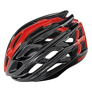 WAG Casco Road GT3000 Tecnología Conehead Talla L Rojo/Negro 58 – 62 cm (