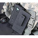 Nokia Lumia Icon 929/930 Custodia, Cocomii Robot Armor NEW [Heavy Duty] Premium Belt Clip Holster Kickstand Shockproof Hard Bumper Shell [Military Defender] Full Body Dual Layer Rugged Cover Case Paraurti (R.Black)