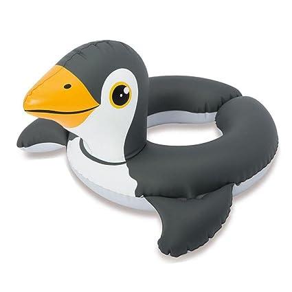 Biback Animales Flotadores para Niños Hinchable Anillo de Natación Unicornio Flotador para bebé Barco Inflable Flotador