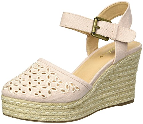 Skechers Cali Women's Turtledove Espadrille Wedge Sandal,light pink,10 M US