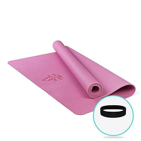SMBYLL Estera de Yoga Grande Doble Estera de Yoga ...