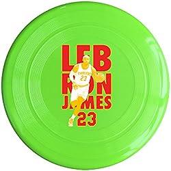 AOLM Basketball Superstar #23 James Outdoor Game Frisbee Flying Discs KellyGreen