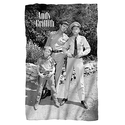 - Andy Griffith Lawmen Fleece Throw Blanket (36