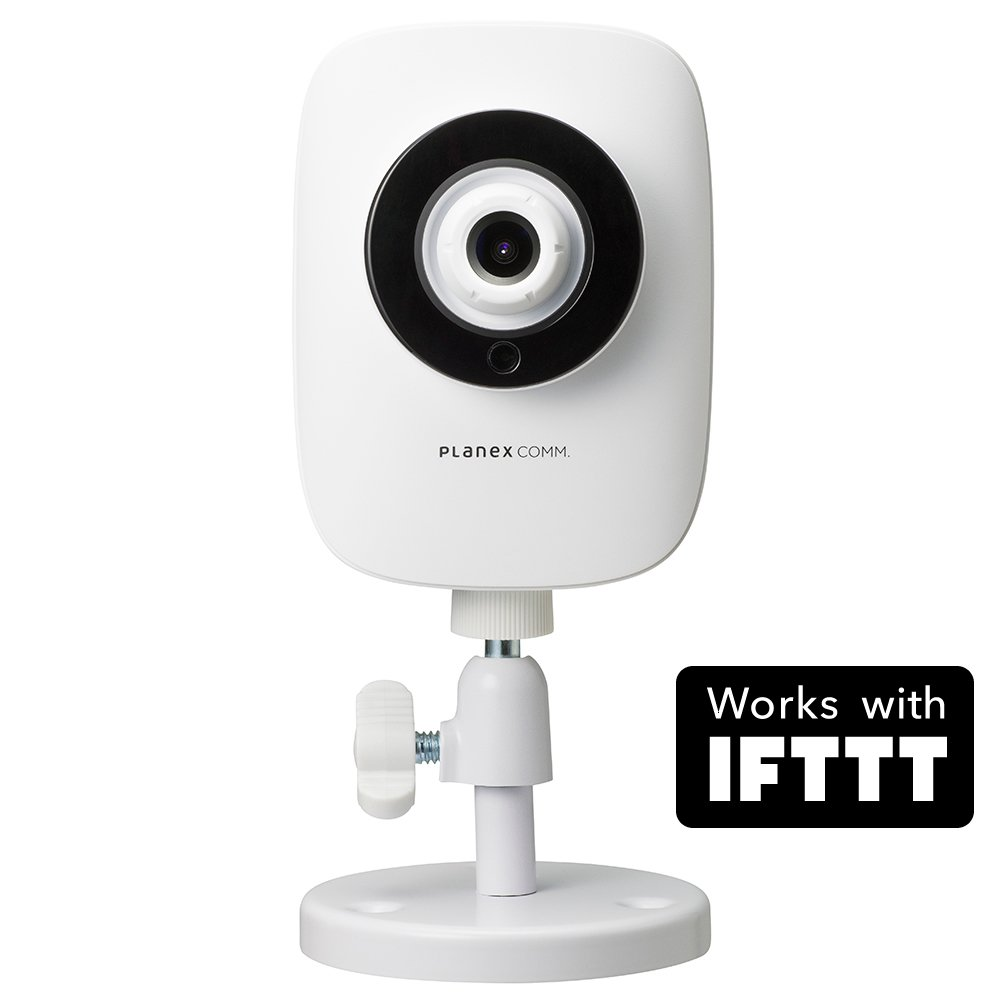PLANEX ネットワークカメラ スマカメフルHD Google Home/Amazon Alexa対応 200万画素広角130度暗視機能双方向通話モバイルルーター対応合法カメラ CS-QR100F B077HWR9DH スタンダード(フルHD)