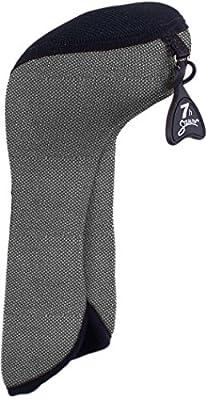 Stealth Club Covers 05080INT Hybrid ID 5-6-7 Golf Club Head Cover, Silver Tweed/Black