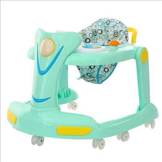 Andador de bebé de primer paso Fácil de plegar 2 en 1 Asiento para ...