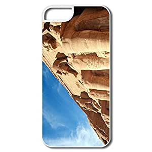 IPhone 5/5S Covers, Abu Simbel Temples Egypt Case For IPhone 5S - White Hard Plastic