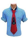 Bev Tie The Original Hands Free Drink Holder - Beer Tie (Red)