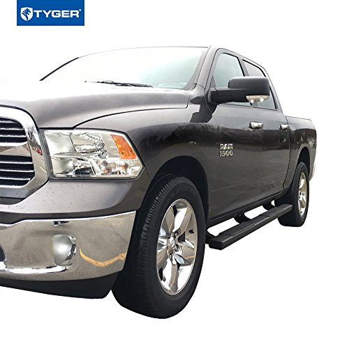 4 Inch Running Boards Side Step For Ram 1500 2500 3500: Tyger Auto TG-RS2D40078 RISER For 2009-2018 Dodge Ram