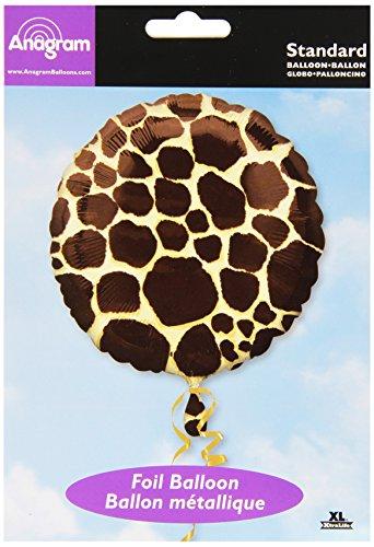 Anagram International Giraffe Foil Packaged Balloon, 18