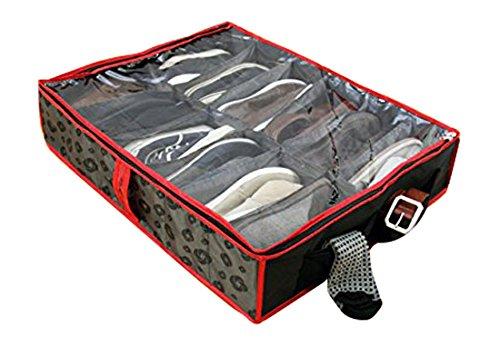 Samsonite Shoe Storage, One Size, Charcoal/Red -