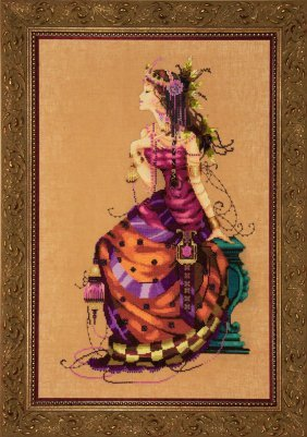 The Gypsy Queen Cross Stitch Chart
