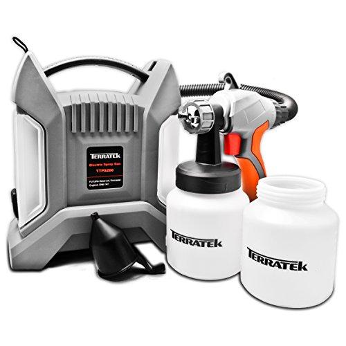 Paint Sprayer, 700W Pro Electric Spray Gun with 3 Spray Patterns, 2 Paint...