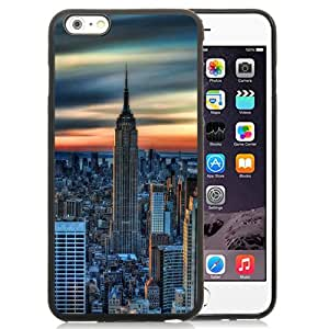 Beautiful iPhone 6 Plus 5.5 Inch TPU Case ,Unique And Lovely Designed With New York City Daybreak iPhone 6 Plus Phone Case