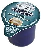 International Delight Cinnabon Classic Cinnamon Roll Coffee Creamer Singles (7/16 Fl Oz Each), 50 Count Bulk Package