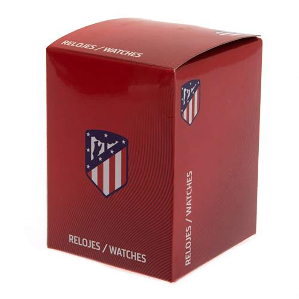 Amazon.com : Official Licensed Atletico Madrid - Mens Watch (BK) : Sports & Outdoors