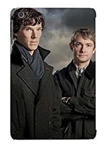 Top Quality Protection Sherlock Case Cover For Ipad Mini/mini 2 With Appearance/best Gifts For Christmas Day