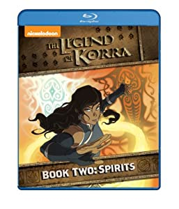 Cover Image for 'Legend of Korra - Book Two, The: Spirits'
