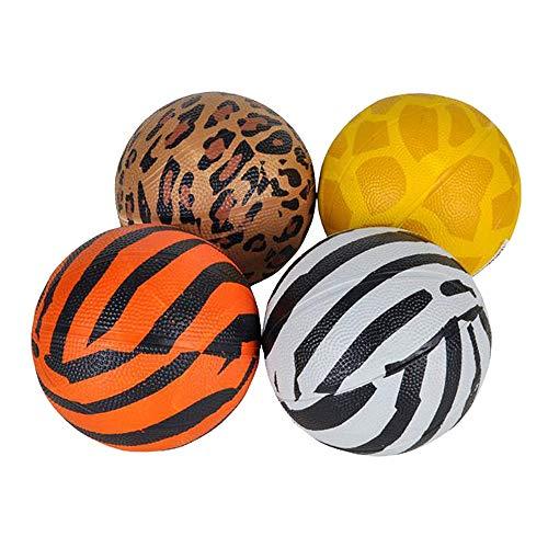 (Kicko Safari Mini Basketball - Pack of 4 Cool 5