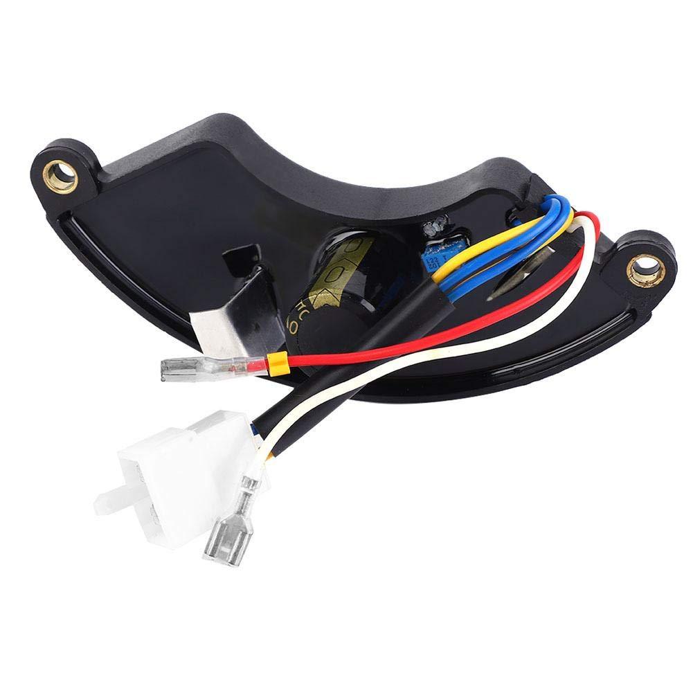 Zouminyy Regulador de voltaje autom/ático del generador AVR universal para generador de 5-6.5KW 250V 470UF