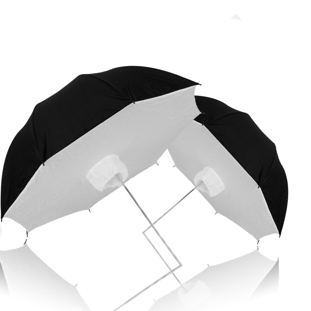 Selens 33'' Photo Studio Collapsible Lighting Reflective Softbox Umbrella for Photography and Video Flash Speedlite, pack of 2