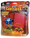 Giochi Preziosi - Gormiti - 7315 - Figurine - Blister de 3 Figurines + 3 Cartes + Pop-up Carte - Assortiment