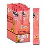 Pure Organic, Fruit Sandwich, Pineapple & Passionfruit, Pack of 20, Size – .63 OZ, Quantity – 1 Case