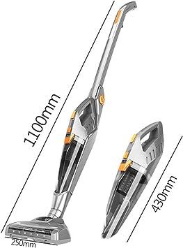 Aspiradora inalámbrica 2-en-1 Aspirador Manual/de Barra de Empuje Ligero y silencioso de Alta Potencia Utilice 40 Minutos de batería Recargable de Iones de Litio: Amazon.es: Hogar
