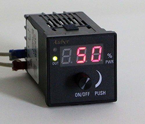 Black Power Regulator - Digital SSR Power Regulator for Wort Boiling Control