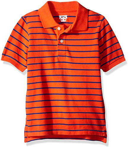 The Children's Place Baby Boys' Short Sleeve Stripe Jersey Polo