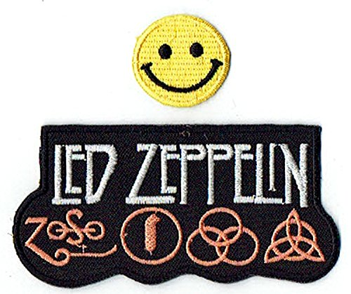 """""""LED-ZEPPELIN : an English rock music band"""" Applique embroid"""