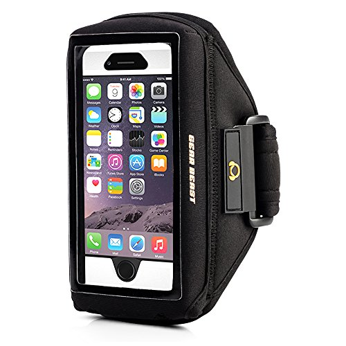 Gear Beast Case Compatible Sport Gym Running Armband with ID and Card...