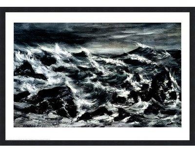 大注目 Stormy Waters by Suzanna Anna Black – B01N5SX1VZ 28 Suzanna x 22インチ – アートプリントポスター LE_398652-F101-28x22 Classic Black Frame B01N5SX1VZ, ヨナグニチョウ:7aa67ead --- a0267596.xsph.ru