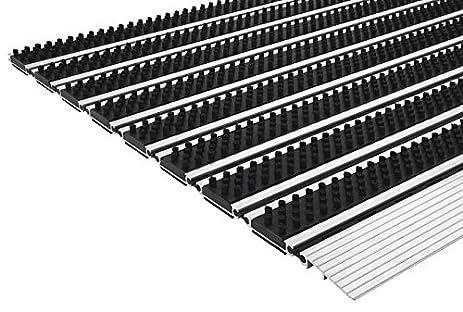 Captivating Aluminum Doormat , Steel Mats Professional Brush Slim, Non Slip