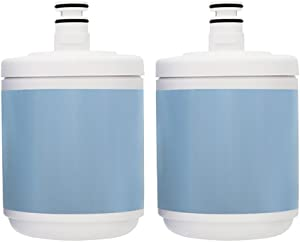 New Replacement Refrigerator Water Filter for Kenmore ADQ72910907 - 2 Pack