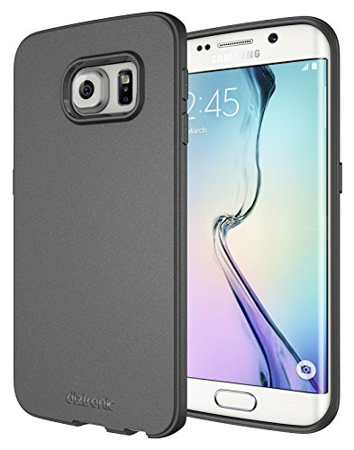 Galaxy S6 Edge Case, Diztronic Full Matte Flexible TPU Case for Samsung Galaxy S6 Edge - Charcoal Gray (S6E-FM-GRY)