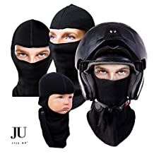 Premium Multipurpose Unisex Balaclava Full Face Mask; One Size Fits Most; Super Convenient, Breathable, Durable; Soft, Ergonomic and Fashionable; Wear it As Head Wrap, Bandana, Helmet Liner, Tactical Hood, Neck Gaiter, Scarf, Headband, Hat, Saharan Style Or Ninja Hoodie; Great For All Ages, Kids and Adults; Hypo-Allergenic Cotton; Use Them As a Part of Your Daily Routine While: Playing With Kids, Skiing, Motorcycling, Snowboarding, Hunting and Other Outdoor Activities; Two Pack Available
