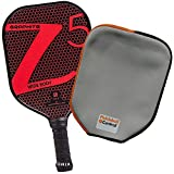 Onix Z5 Graphite Pickleball Paddle and Paddle Cover (Red)