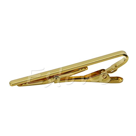 Haptian Hombres, Metal, Oro, Corbata Simple, Barra para Corbata ...