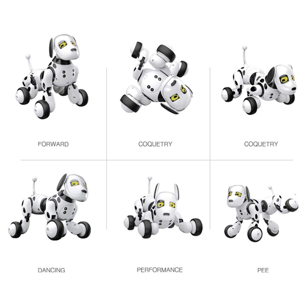 Robot Dog Wireless Remote Control Intelligent Children's Smart Toys Talking Dog Robot Electronic Pet Toy Birthday Gift by Zaote (Image #3)
