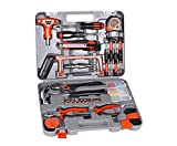 FixtureDisplays 82-Piece Homeowner's Tool Kit Professional Hardware Tools Set 15992!